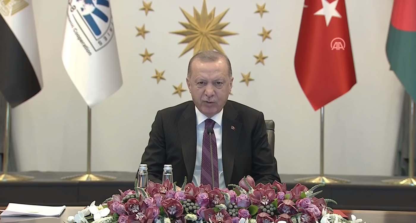 Cumhurbaşkanı Erdoğan dan D-8 ülkelerine çağrı: Yerel parayla ticarete ağırlık vermemiz şarttır