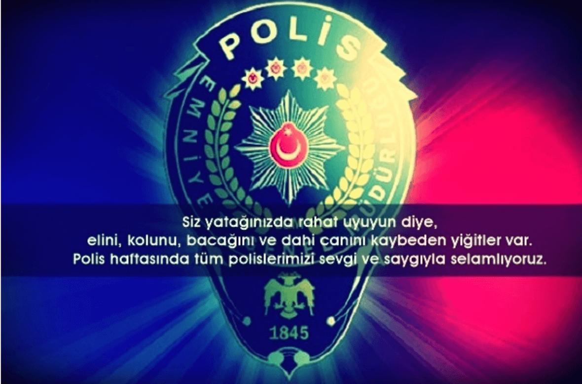 Polis Haftası ile ilgili sözler, şiirler | Polis haftası mesajları resimli