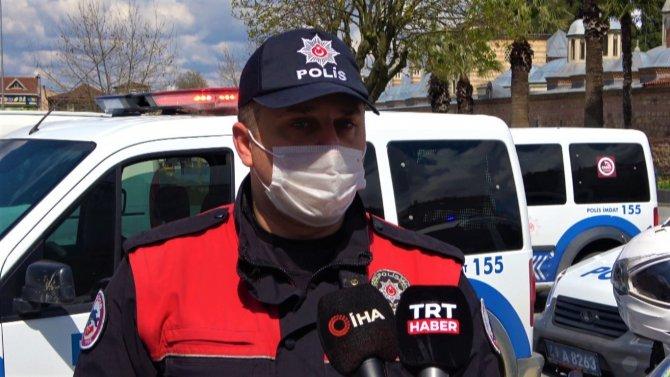 Basın mensuplarından polis ekiplerine sürpriz, Silahlı kavga var diyerek çağırdılar, pasta kestiler