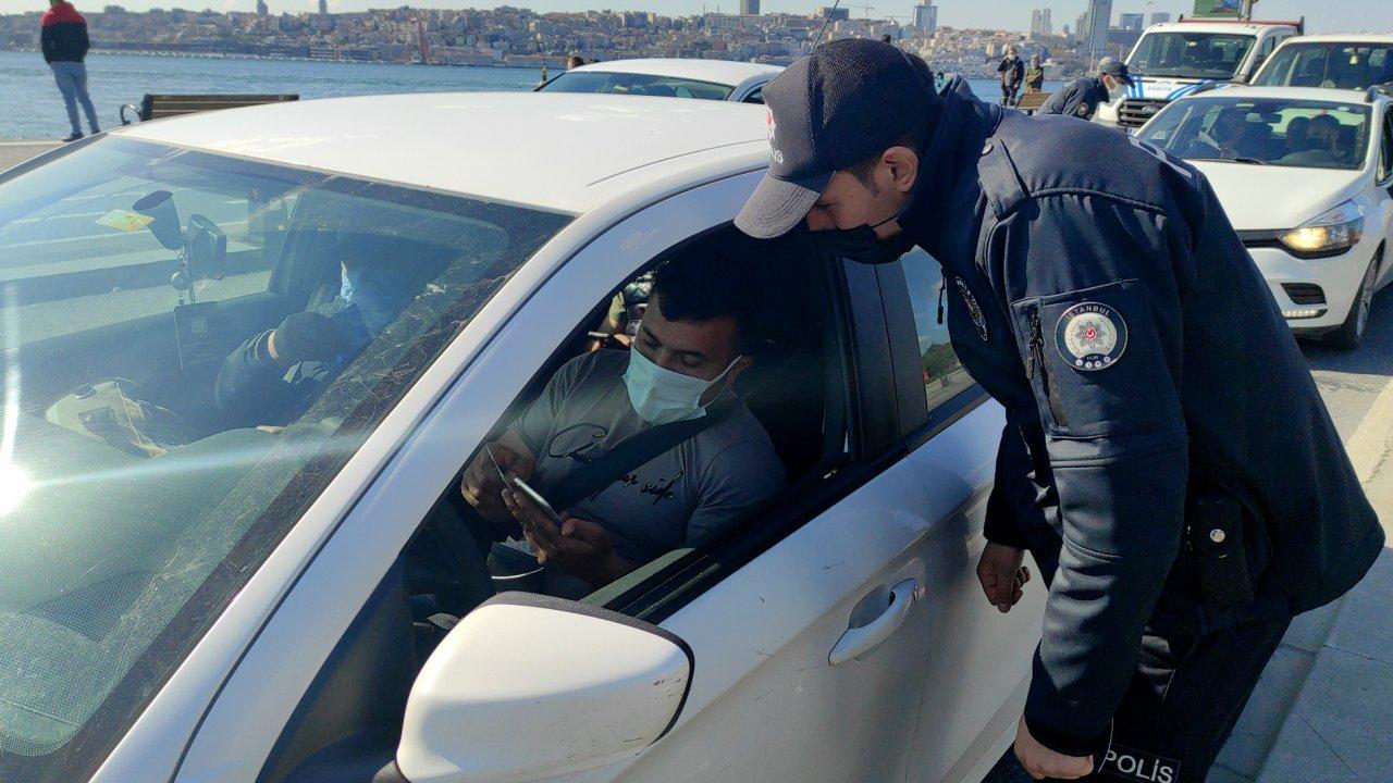 Ekipler pandemi denetiminde! İstanbul'da sokak kısıtlaması kontrol altında