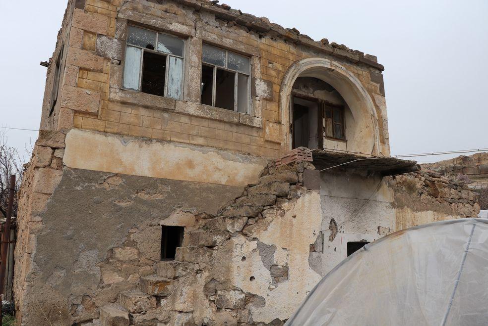 Kemal Sunal'ın Keriz filminin çekildiği evde Yeşilçam'ın izleri duruyor