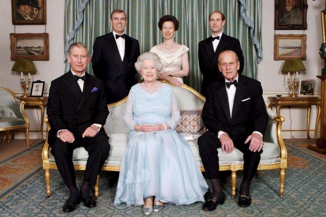 Prens Philip'in ölümünden sonra Kraliçe II. Elizabeth, yasta