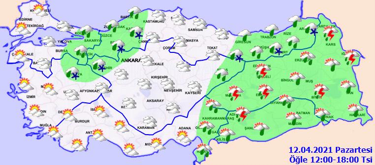 Meteoroloji'den 15 il için uyarı: Sıcaklık düşüyor, yağışlar geri geliyor!