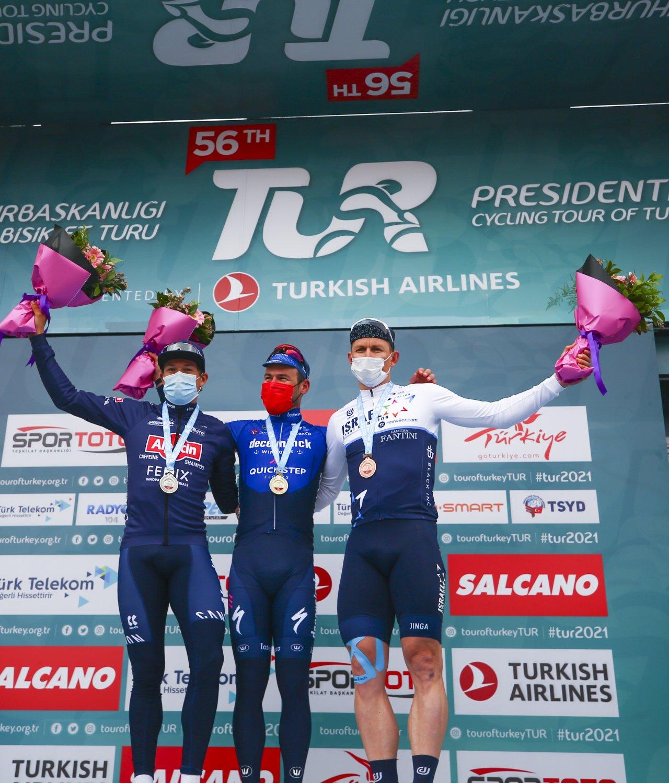 56. Cumhurbaşkanlığı Türkiye Bisiklet Turu heyecanı devam ediyor, İkinci tur tamamlandı