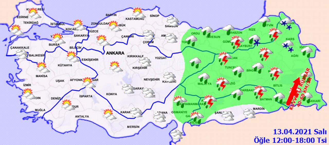 Havalar ne zaman ısınacak? Meteoroloji'den Batı için müjdeli doğu için ise kötü haber!