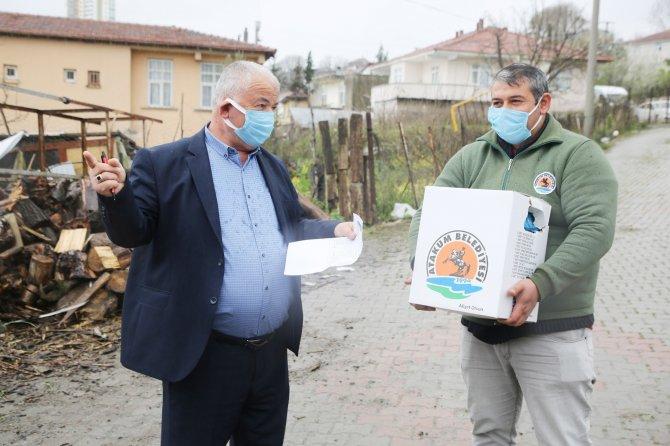 Atakum'da 4 binden fazla koli ihtiyaç sahibi ailelere ulaştırıldı
