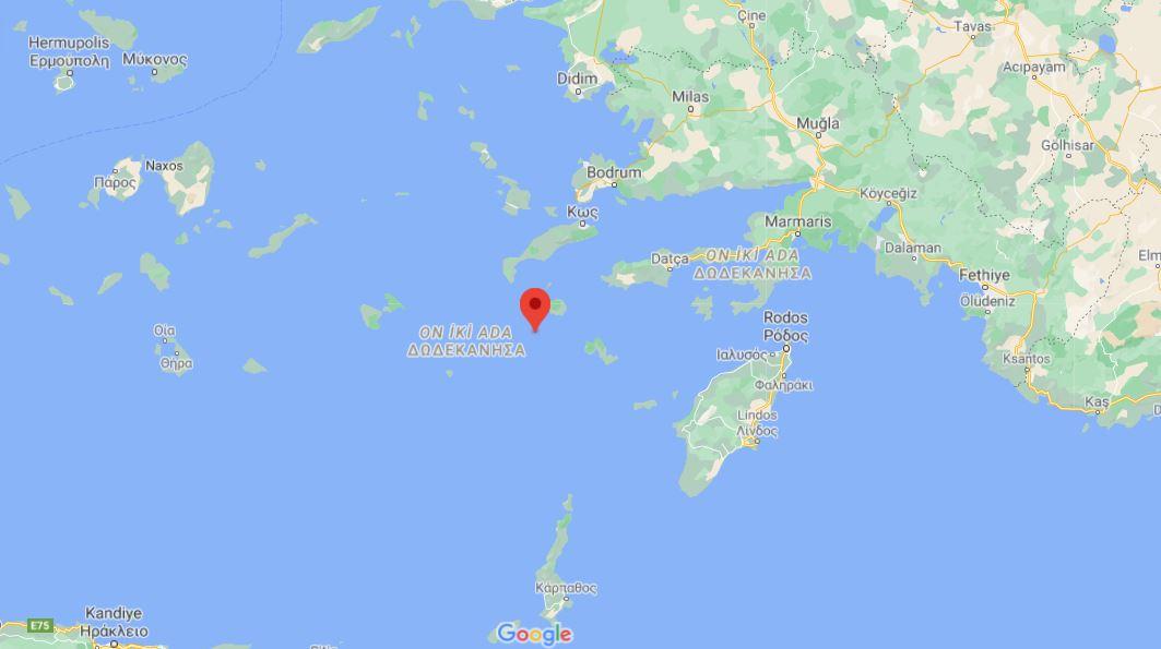 Son dakika   Muğla açıklarında 5.1 şiddetinde deprem!