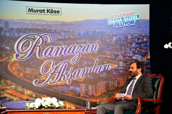 Mamak'ta Ramazan Etkinlikleri Dijitalden gerçekleşecek