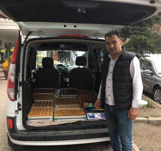 Ramazan'ın ilk günü tatlı satışları dört katına çıktı