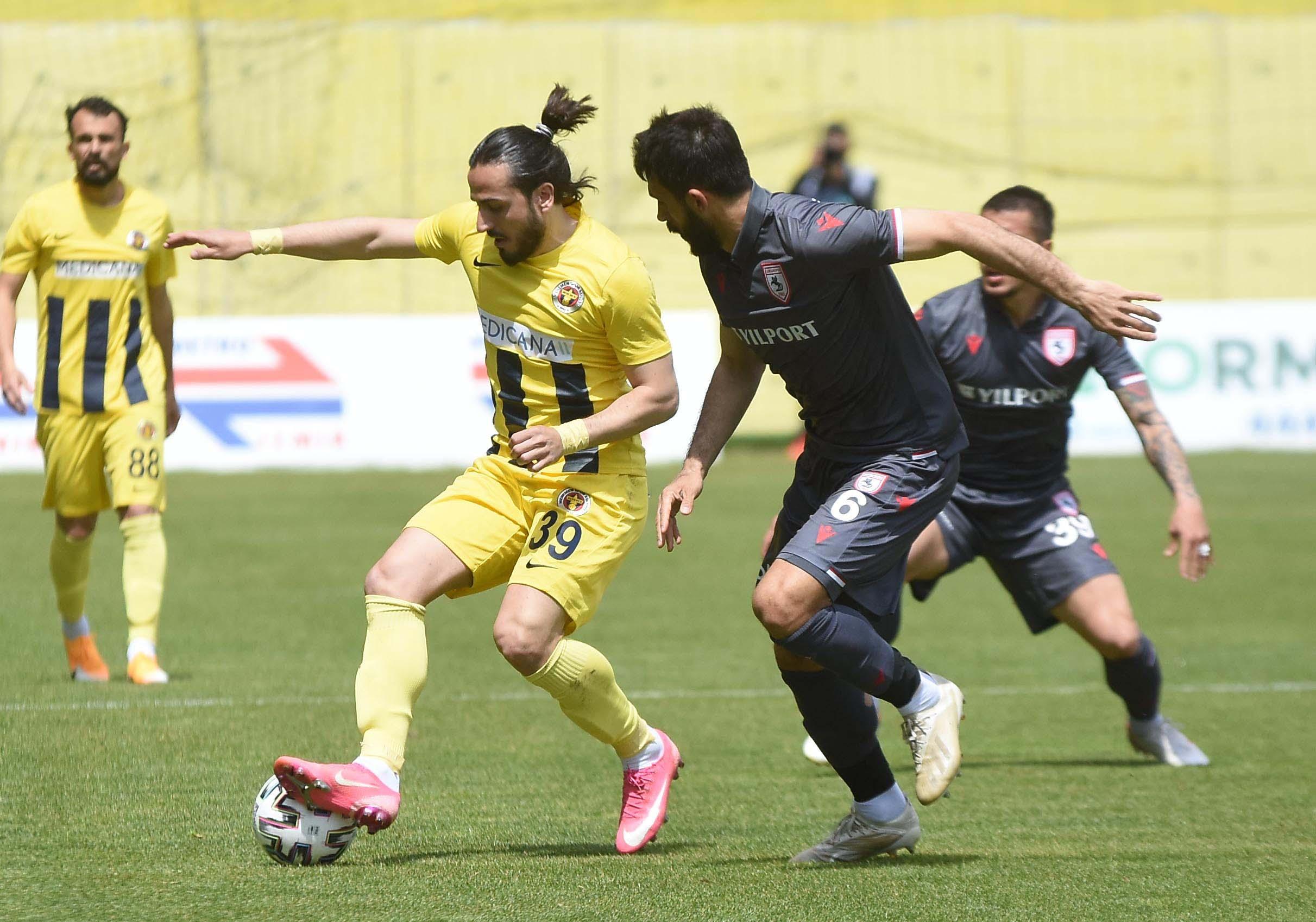 Samsunspor, Menemenspor deplasmanında 2 puan bıraktı: 2-2
