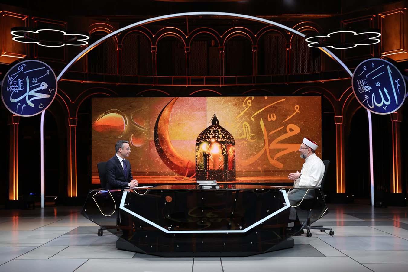Diyanet İşleri Başkanı Erbaş'tan teravih namazı açıklaması: Vaka sayıları düşerse...