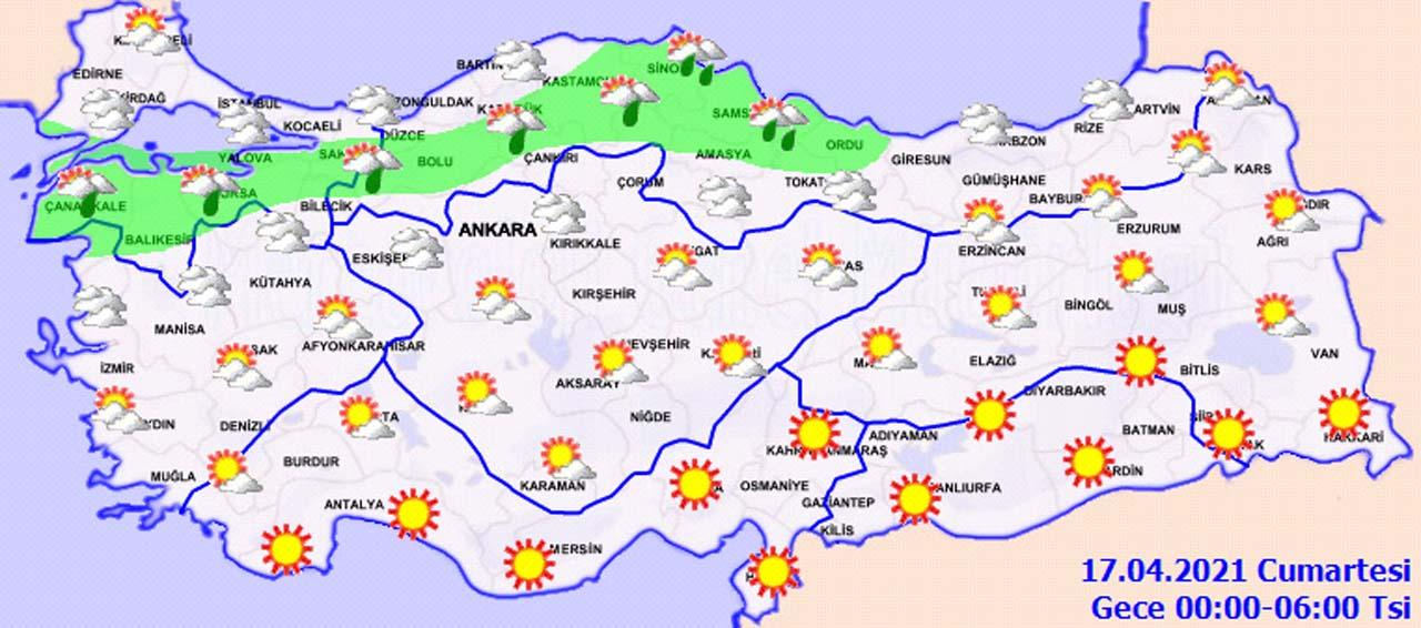 YAĞIŞA TESLİM OLACAĞIZ! Hava durumu: Meteoroloji il il uyardı...