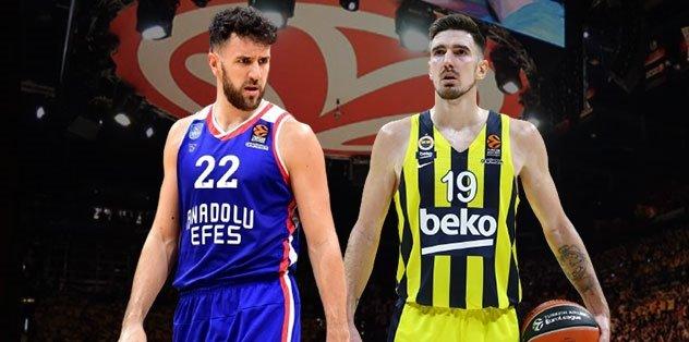 Fenerbahçe Beko-Anadolu Efes maçı ertelendi mi? | Neden ertelendi? | Fenerbahçe Beko-Anadolu Efes maçı hangi kanalda? Ne zaman, saat kaçta?