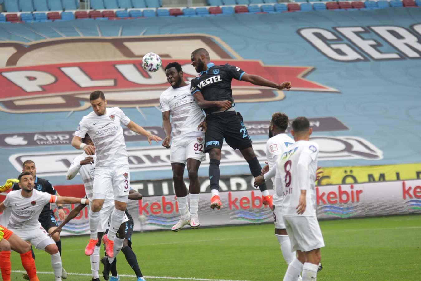 Son dakika| Trabzonspor, Hatayspor'a diş geçiremedi: 1-1