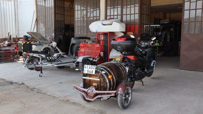 Kocaeli'de Forklift tamircisinin Tasarımlarına Amerikalılar hayran kaldı