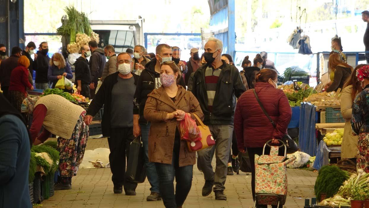 Koronavirüs birincisi Çanakkale'de korkutan görüntüler! Kimse tedbir almadı...
