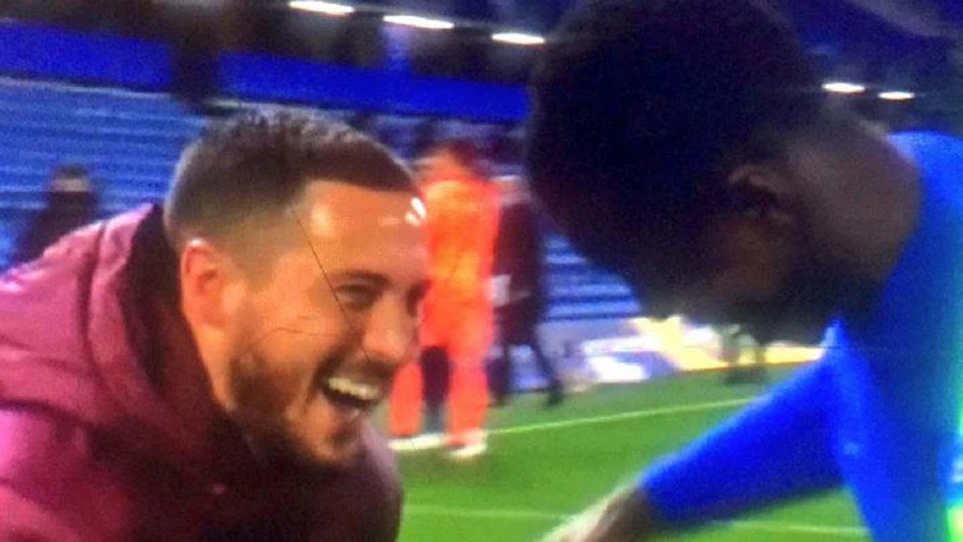 Real Madrid'de Hazard gerilimi! Gülüştüğü anlar taraftarları çileden çıkardı