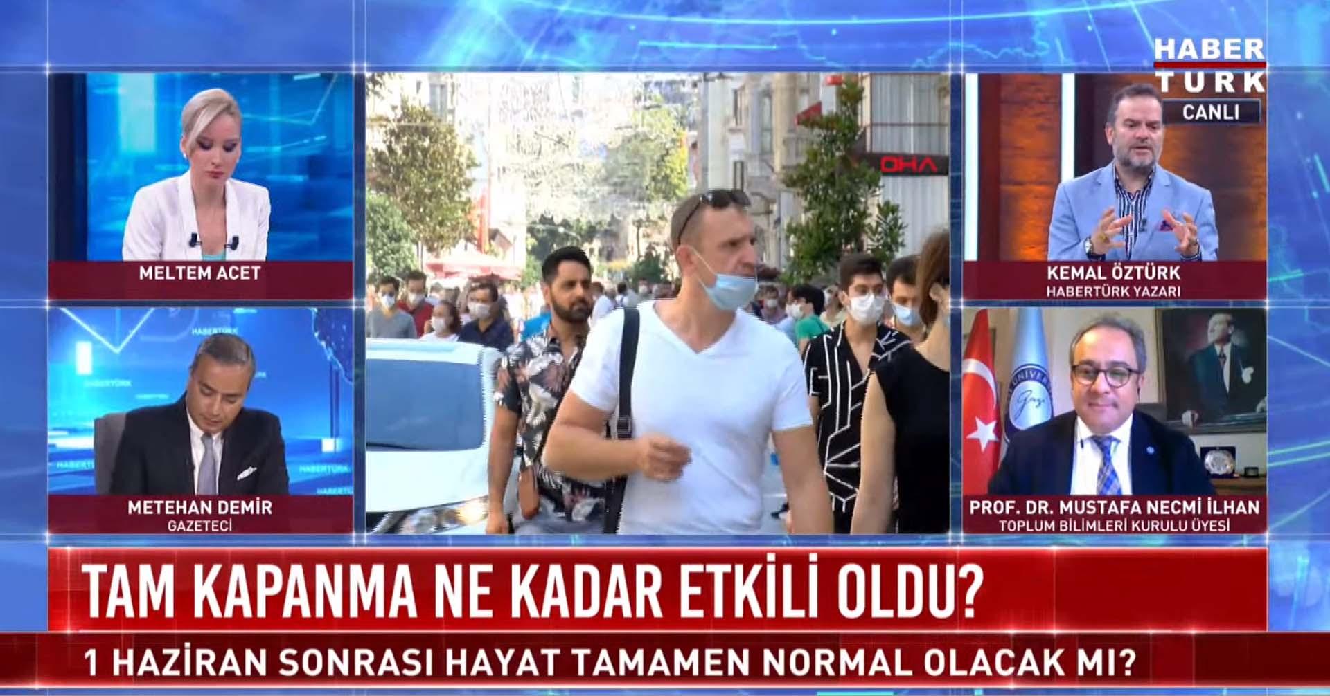 Prof. Dr. Mustafa Necmi İlhan'dan maske açıklaması: Kapalı alanlarda bir süre takmak gerekecek
