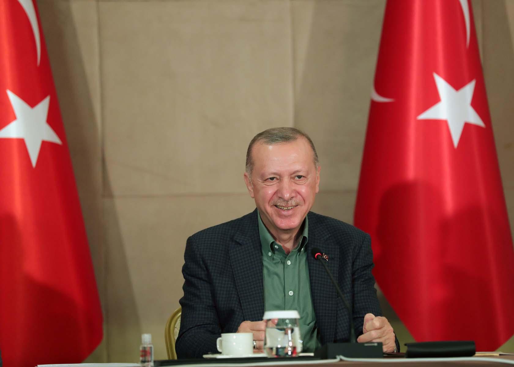 Cumhurbaşkanı Erdoğan, Babalar Günü'nde gençlerle buluştu