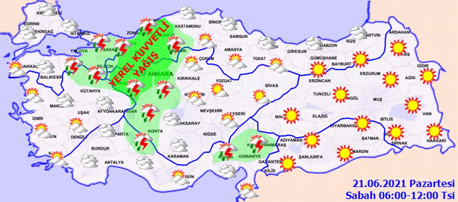 Meteoroloji'den su baskını, yıldırım ve dolu yağışı uyarısı! İstanbul, Ankara başta olmak üzere bir çok ilde hayat felç olacak!