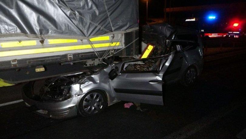 Antalyada feci kaza! Tırın altına girdi, metrelerce sürüklendi, boğazı kesildi