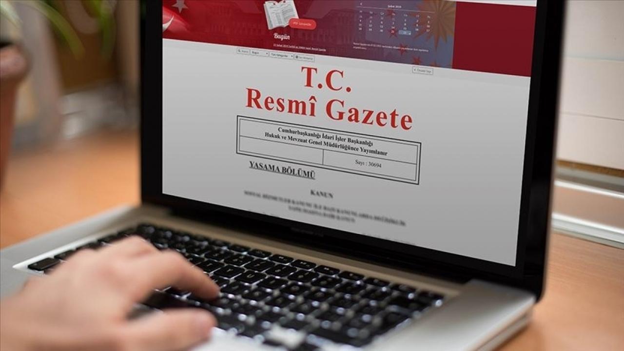 Resmi Gazete'de bugün (22.06.2021) | 22 Haziran 2021 Resmi Gazete kararları