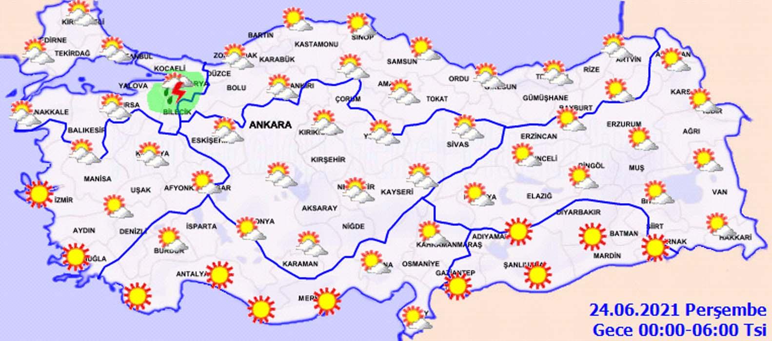 Meteoroloji'den 23 Haziran 2021 Çarşamba hava durumu uyarısı: İstanbullular dikkat: Sel ve hortum geliyor!