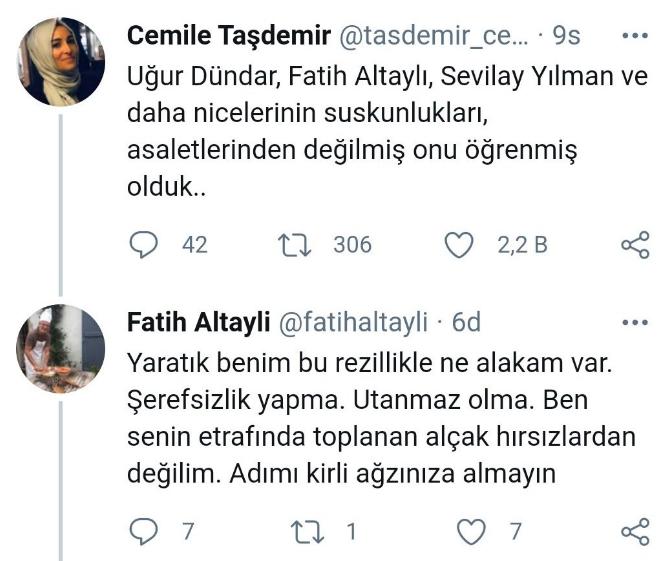 Cemile Taşdemir kimdir? | Fatih Altaylı Cemile Taşdemir'e ne dedi Twitter?