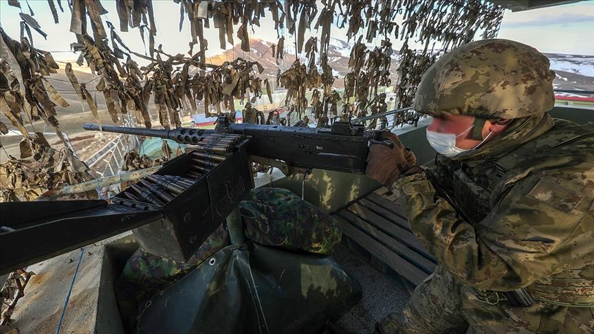 Sınır ötesinde terörle mücadele operasyonları: Irakın kuzeyinde 3 PKKlı terörist etkisiz hale getirildi