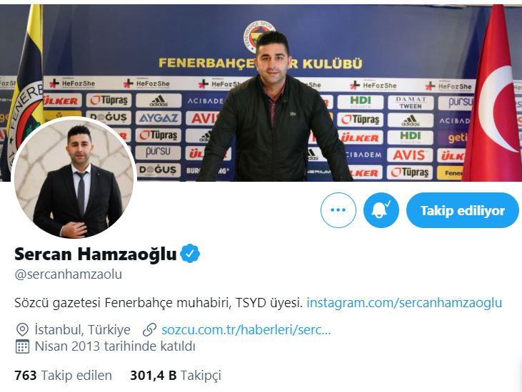 Sercan Hamzaoğlu kimdir? | Sercan Hamzaoğlu Twitter hassbı nedir?