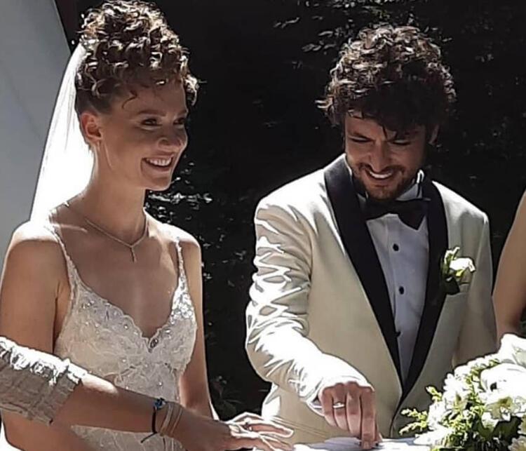 Mucize Doktor'un Ali Vefası Taner Ölmez, Ece Çeşmioğlu ile evlendi! İşte nikahtan ilk kareler...