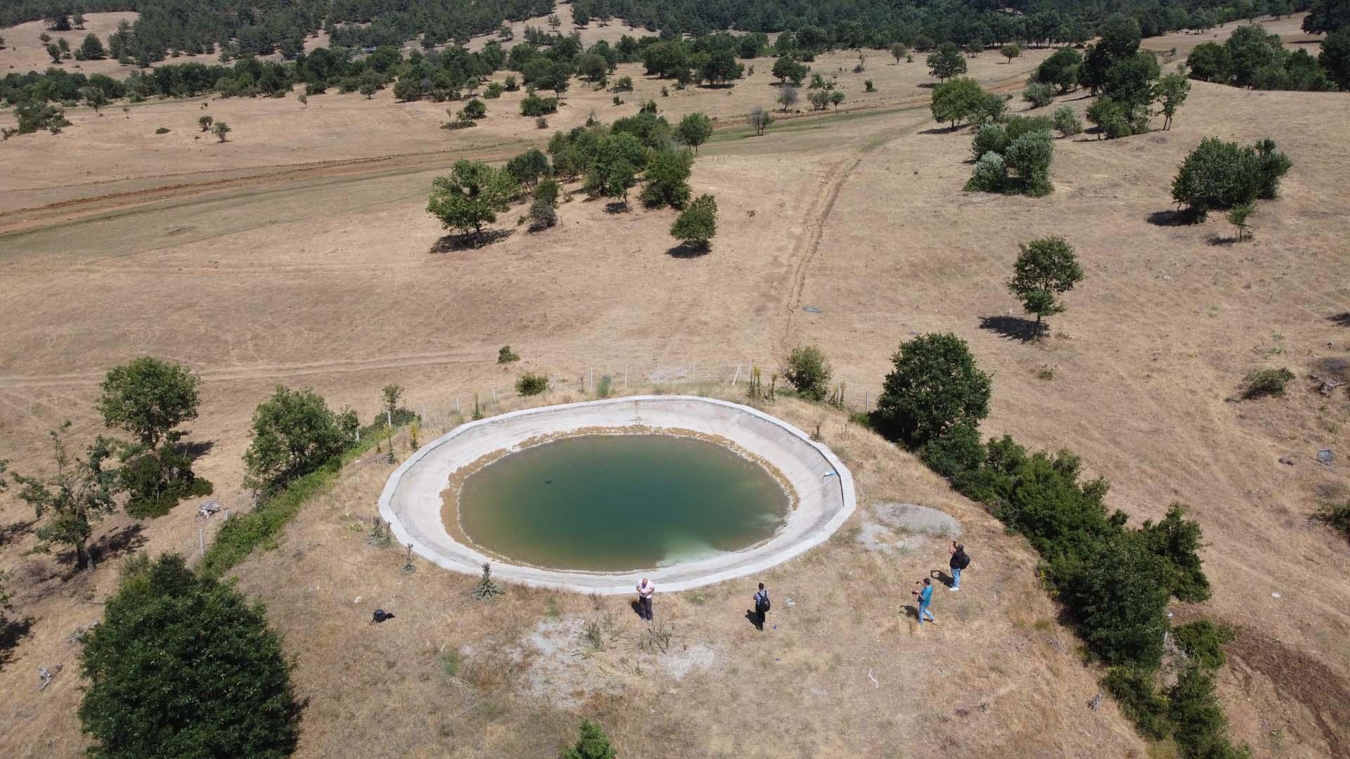Osmaniye'de yürek yakan olay! Söndürme havuzuna giren iki çocuk boğularak can verdi