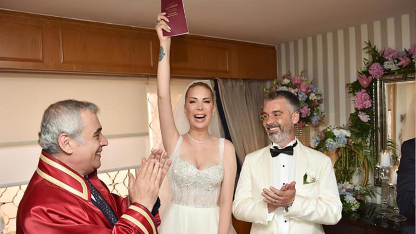 Tuğba Özerk evlendi! Nikahtan sonraki ilk paylaşım...