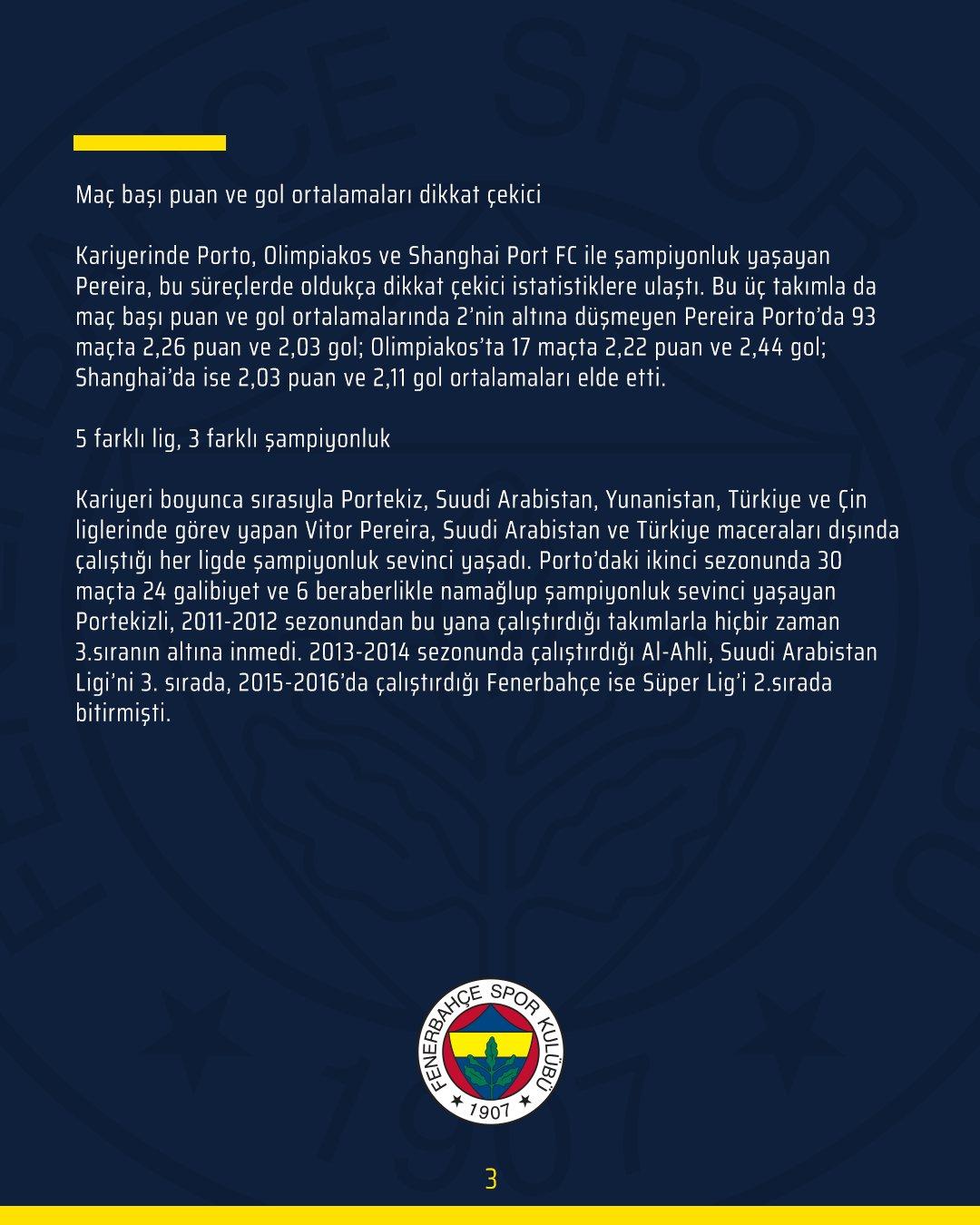 Son dakika   Resmen açıklandı! Fenerbahçe'nin yeni teknik direktörü belli oldu