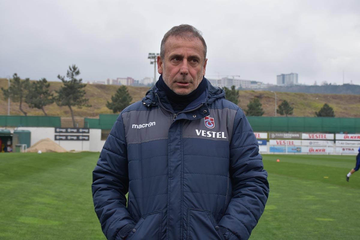 Trabzonspor teknik direktörü Abdullah Avcı açıklamalarda bulundu