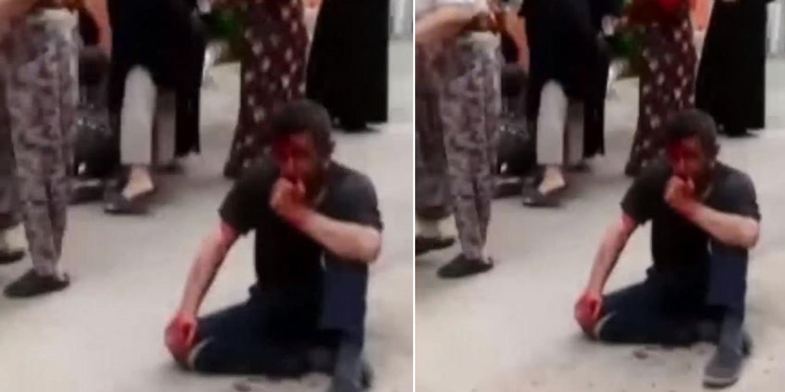 Gözü dönmüş sapığa kadınlardan meydan dayağı! 5 yaşındaki çocuğu arka sokağa götürüp, taciz etti