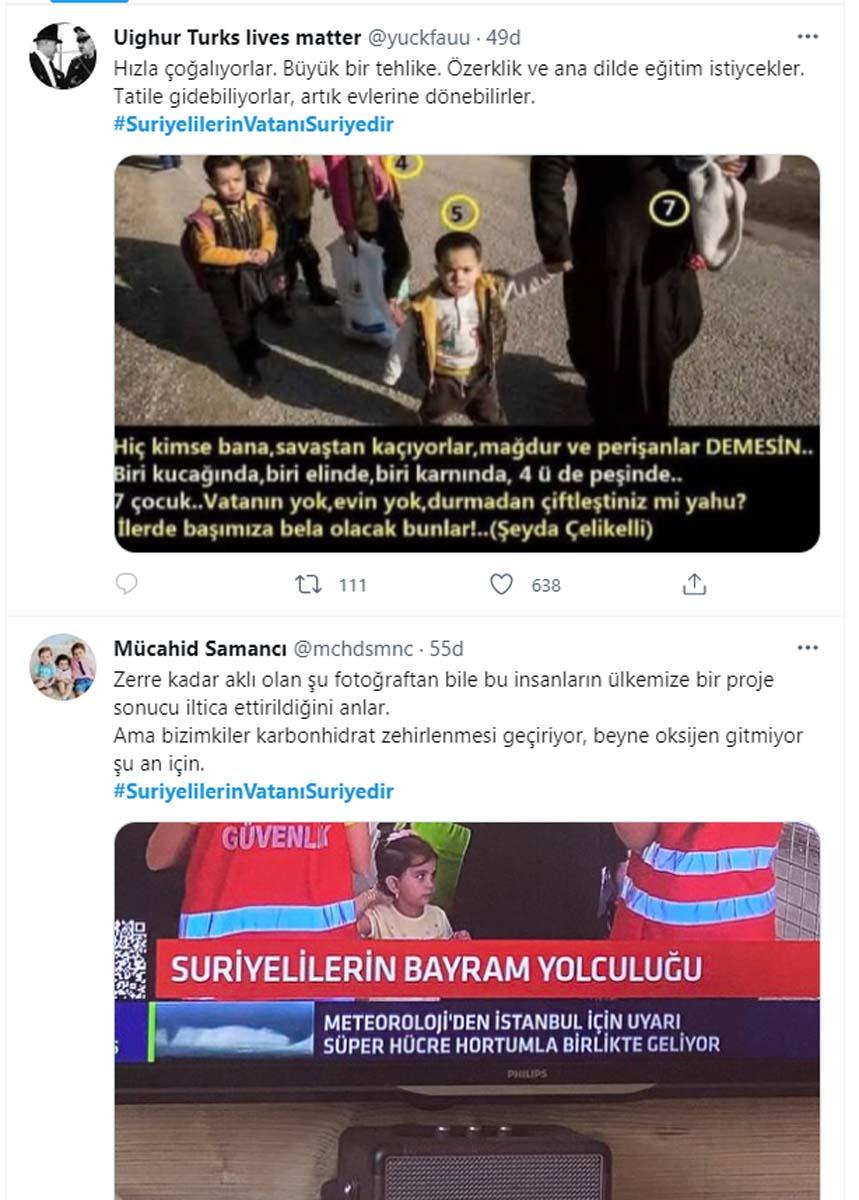 Suriyelilere Kurban Bayramı tepkisi! Sosyal medya paylaşımlarla yıkıldı! Suriyelilerin vatanı Suriye dir