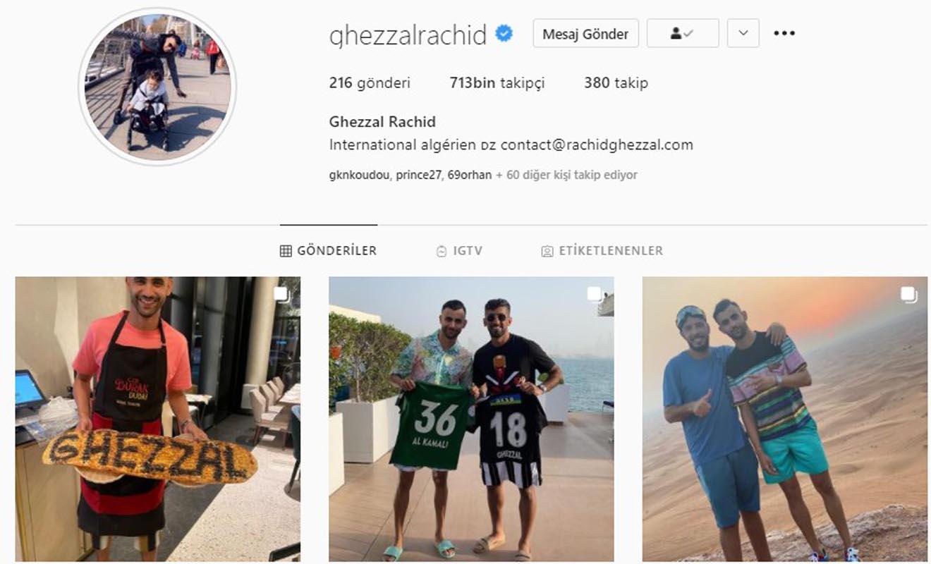 Ghezzal'dan flaş açıklama: Galatasaray'ı reddedip Beşiktaş'la anlaştığım yalan!