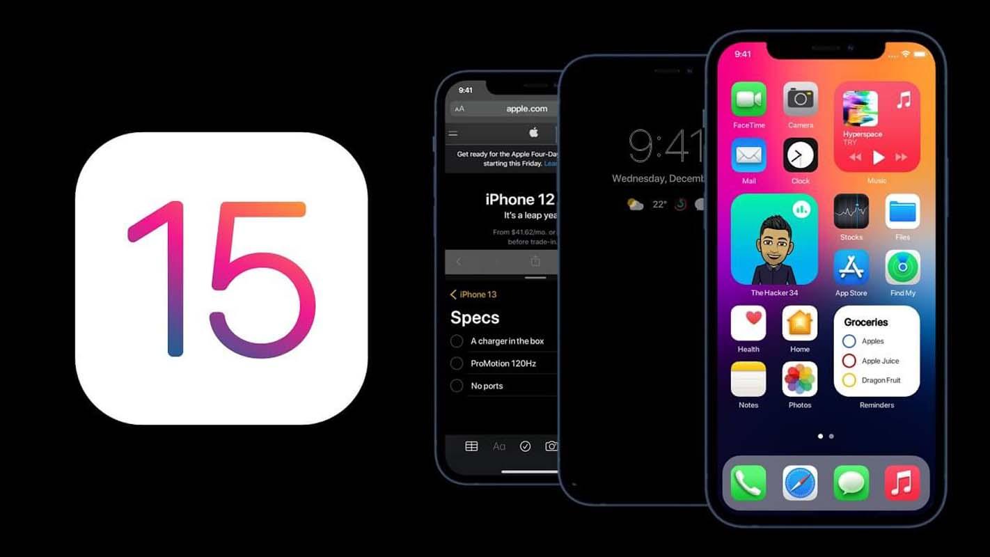Eski iPhone'unuz iOS 15 özelliklerinden faydalanamayacak!