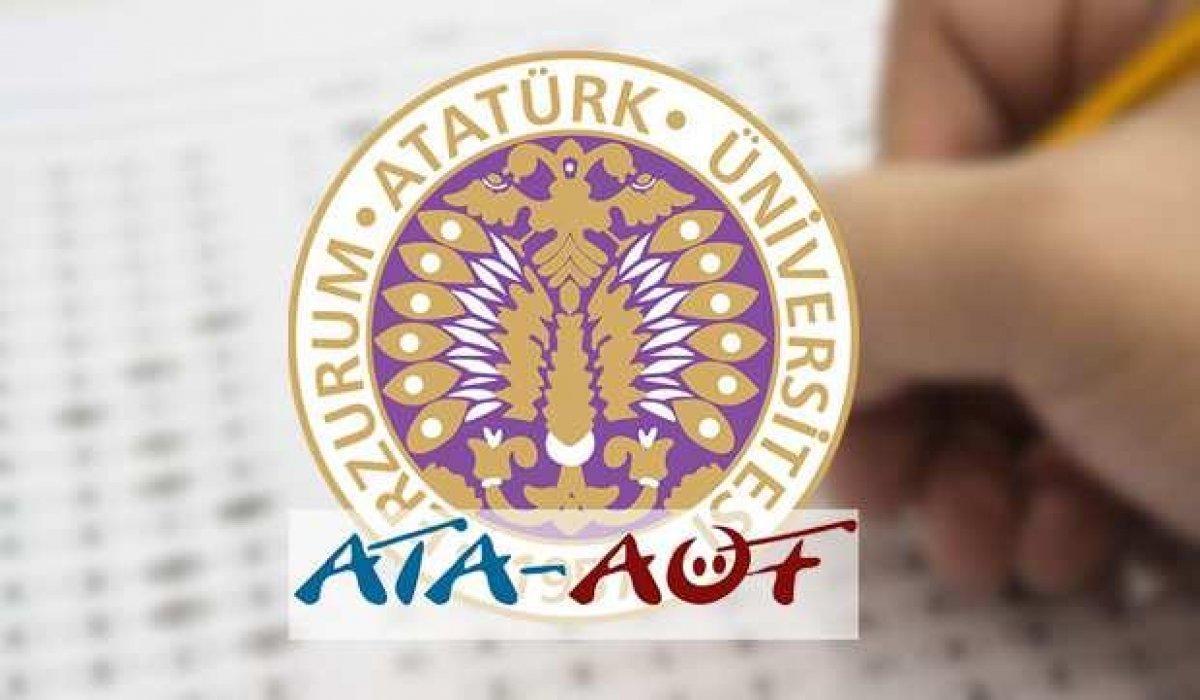 ATA AÖF bütünleme sınav sonuçları 2021 açıklandı mı? ATA UNİ OBS sınav sonuç sorgulama ekranı!