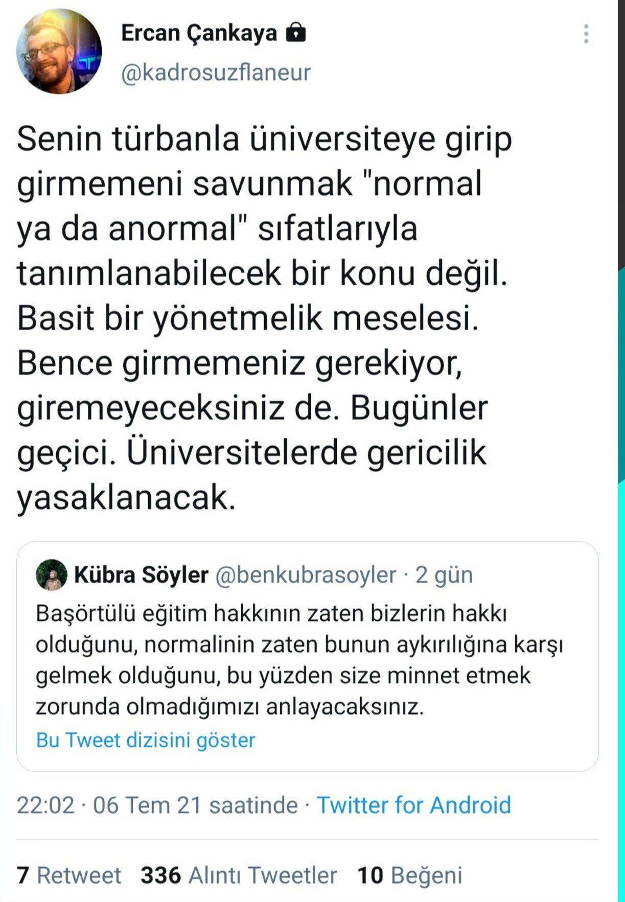 Boğaziçi Üniversitesi öğrencisi Ercan Çankaya kimdir? Nereli? Kaç yaşında?