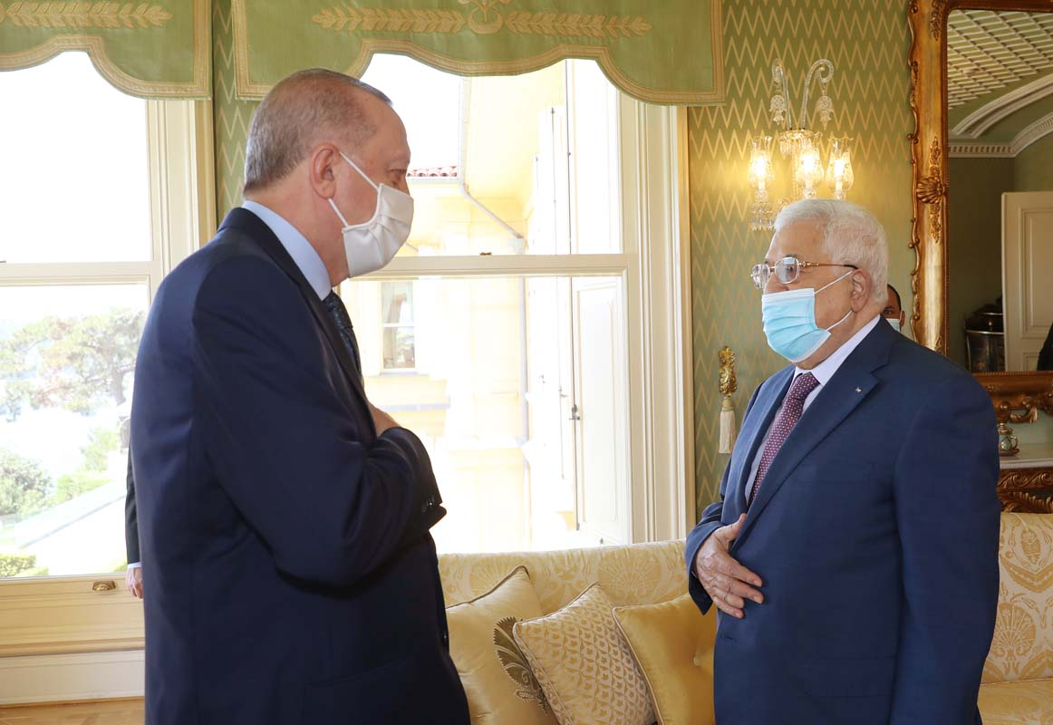 Cumhurbaşkanı Erdoğan ile Filisstin Başkanı Mahmud Abbas'ın görüşmesi sona erdi: İşte ikilinin görüşmesindeki ana gündem maddeleri...