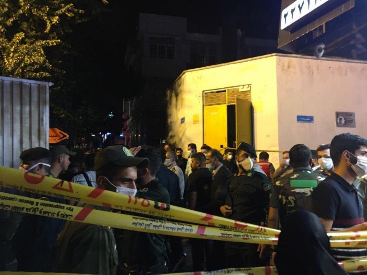 Komşuda korkutan olay! Tahranda büyük bir patlama meydana geldi