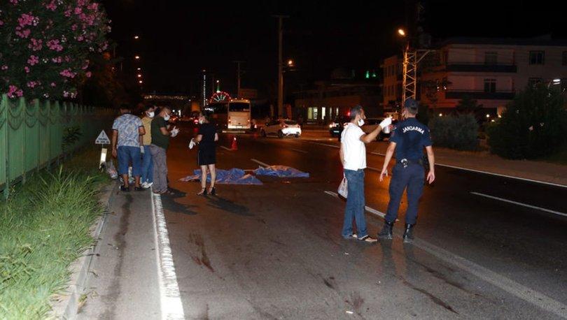 Tatil için geldikleri Alanyada trafik terörüne kurban gittiler! Polonyalı genç çift feci şekilde can verdi