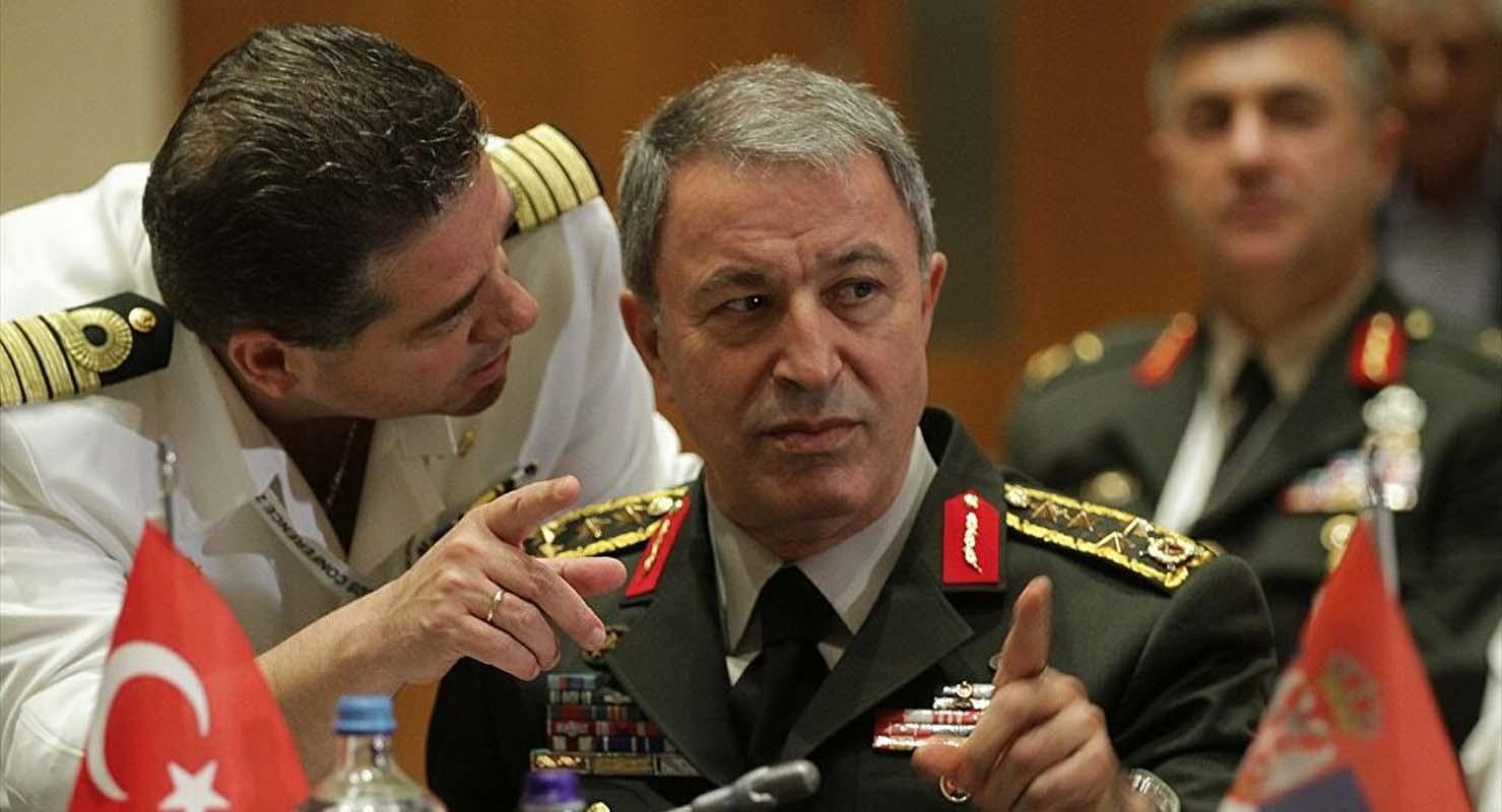 MSB bakanı Akar'dan Yunan bakana sert tepki!