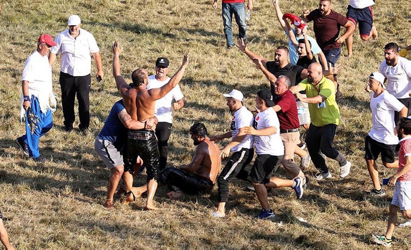 Tarihi Kırkpınar Yağlı Güreşleri'nde başpehlivan Ali Gürbüz oldu!