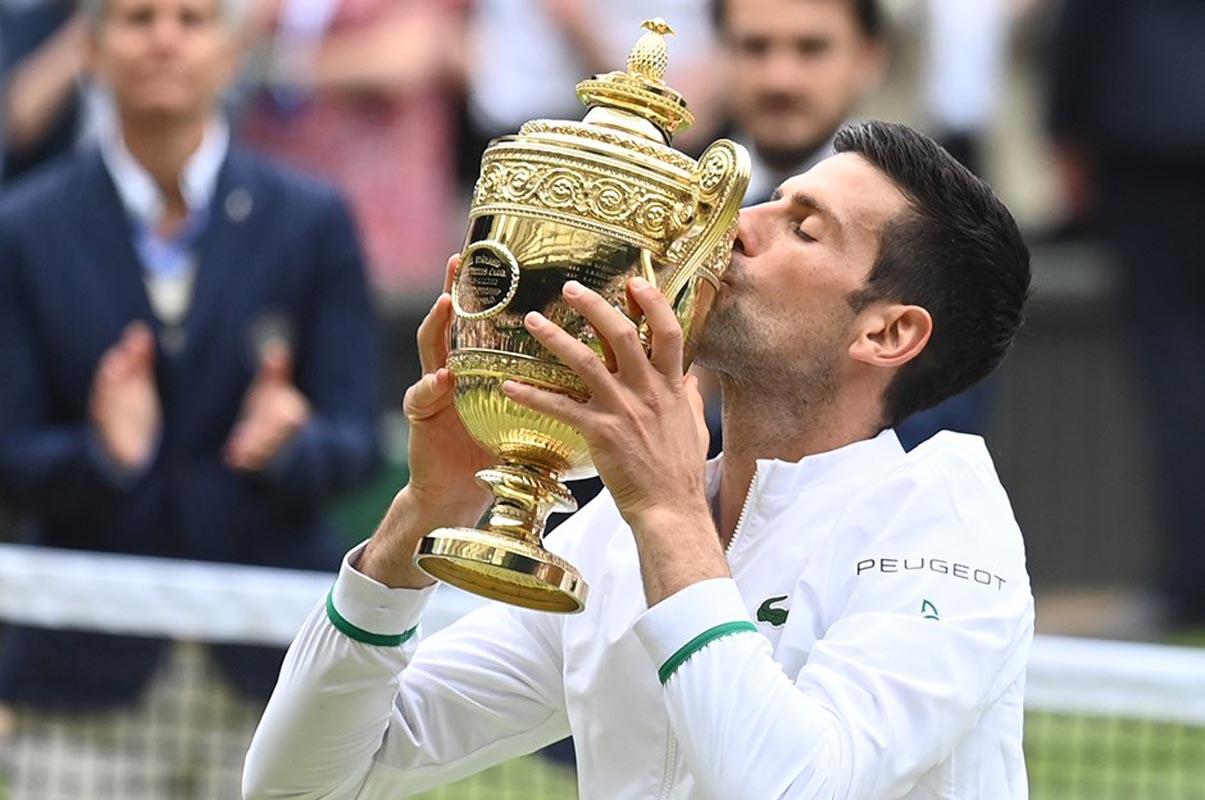 Wimbledon'da şampiyon Novak Djokovic!