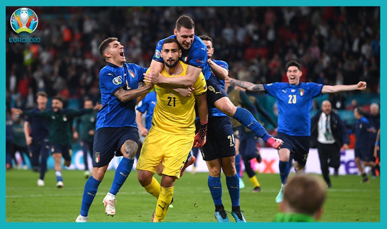 UERO 2020 İtalya - İngiltere maç özeti izle   İtalya penaltı atışları sonucunda EURO 2020 şampiyonu oldu