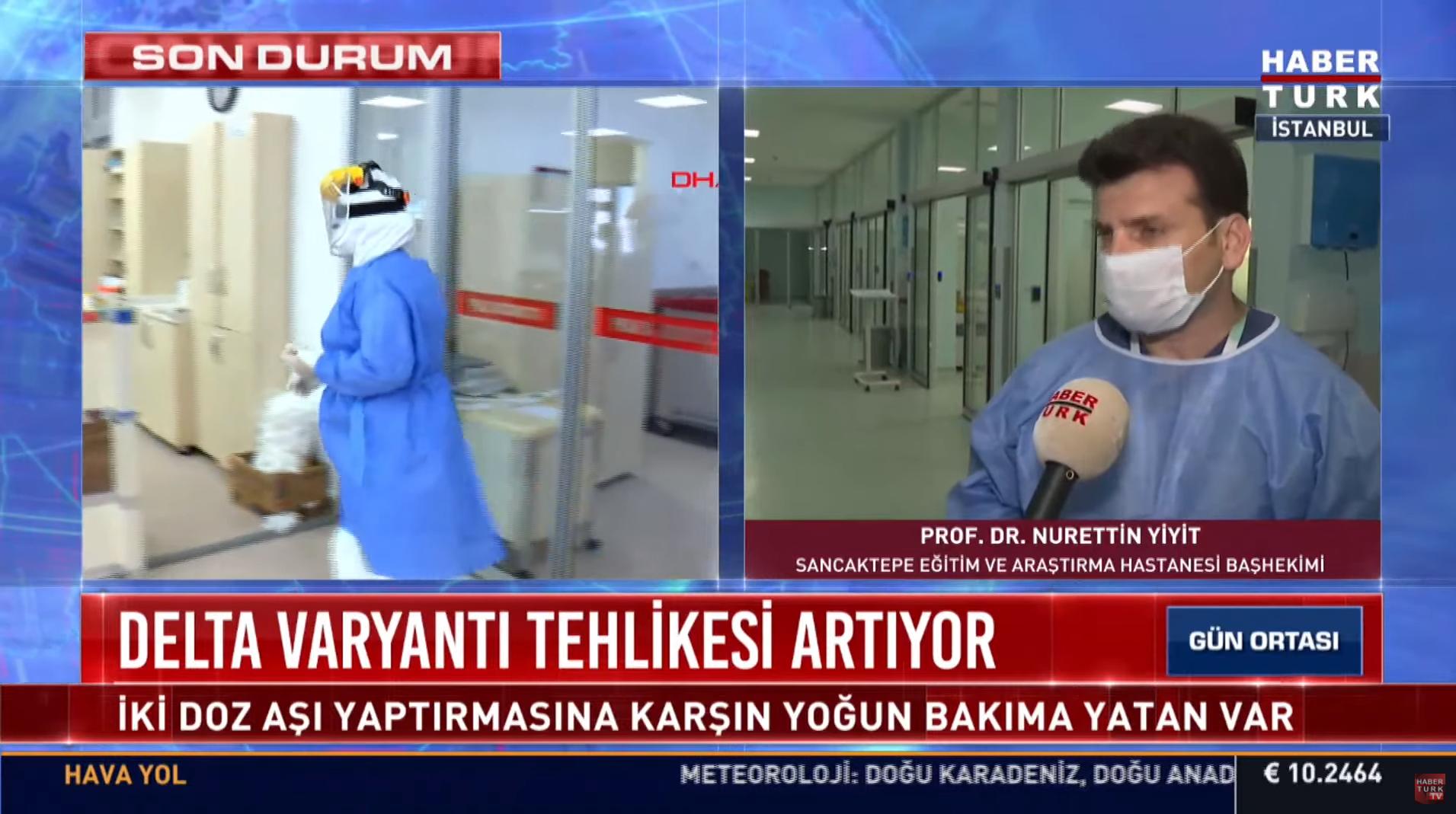 Prof. Dr. Nurettin Yiyit kötü haberi verdi! Delta varyantı artmaya başladı, en çok o kişiler tehlike altında