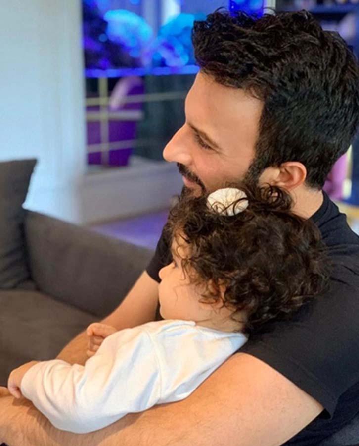 Tarkan'ın kızı Liya ile paylaşımı büyük beğeni topladı
